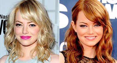 Hairobrt copper red hair emma stone with blonde hair and emma stone with red hair urmus Images